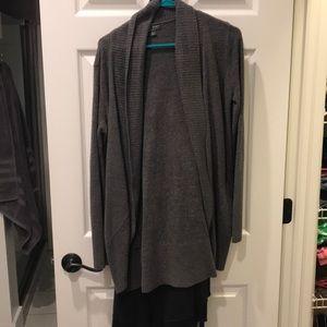 Medium barefoot dreams gray cardigan